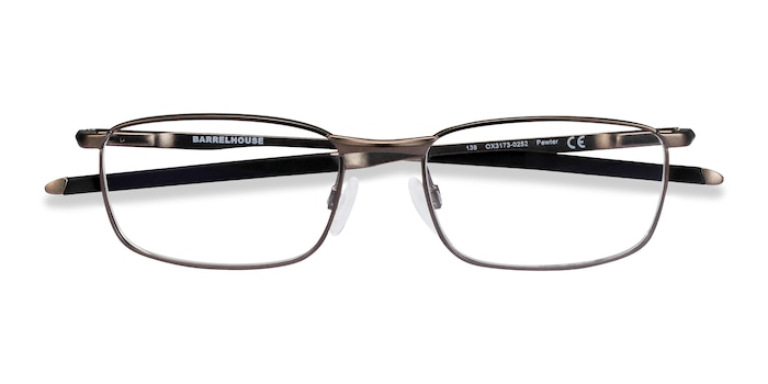 Pewter Oakley Barrelhouse -  Metal Eyeglasses