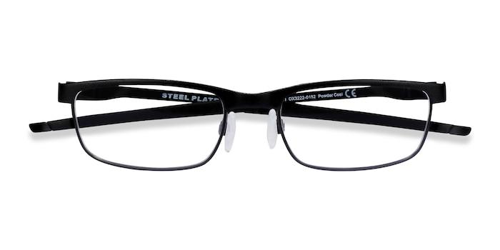 Powder Coal Oakley Steel Plate -  Metal Eyeglasses