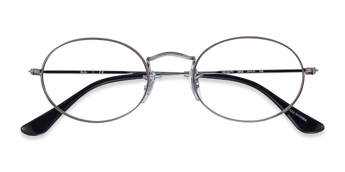 Gunmetal Ray-Ban RB2447V -  Metal Eyeglasses