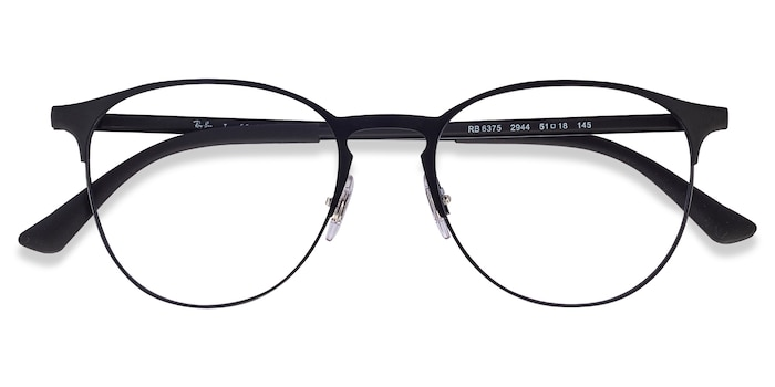 Black Ray-Ban RB6375 -  Classic Metal Eyeglasses