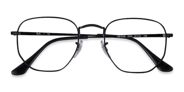 Black Ray-Ban RB6448 -  Metal Eyeglasses