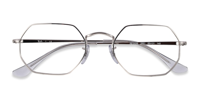 Silver Ray-Ban RB6456 -  Metal Eyeglasses