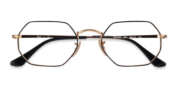 Black Gold Ray-Ban RB6456 -  Metal Eyeglasses