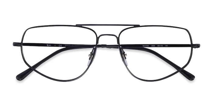 Black Ray-Ban RB6455 -  Metal Eyeglasses