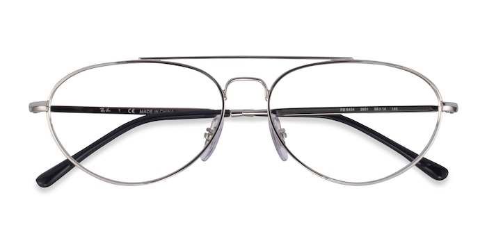 Silver Ray-Ban RB6454 -  Metal Eyeglasses