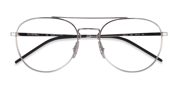 Silver Ray-Ban RB6414 -  Metal Eyeglasses