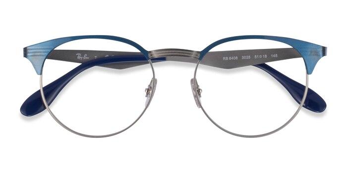 Blue Ray-Ban RB6406 -  Metal Eyeglasses