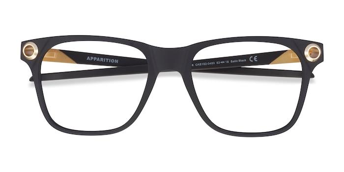 Satin Black Oakley Apparition -  Plastic Eyeglasses