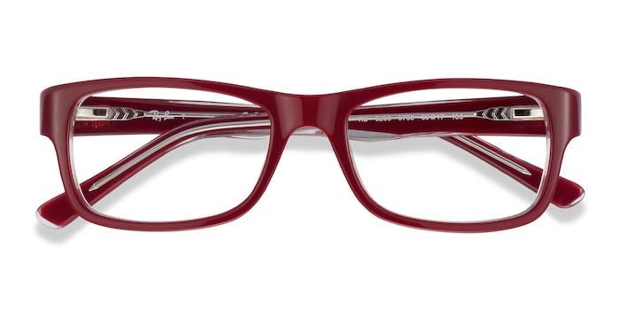Red Ray-Ban RB5268 -  Acetate Eyeglasses
