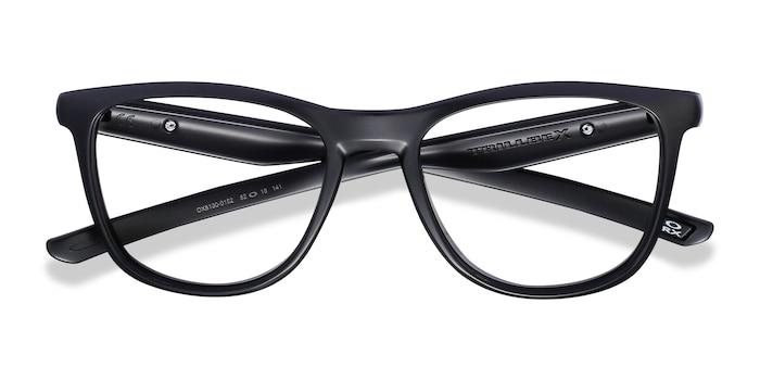 Matte Black Oakley Trillbe X -  Lightweight Plastic Eyeglasses
