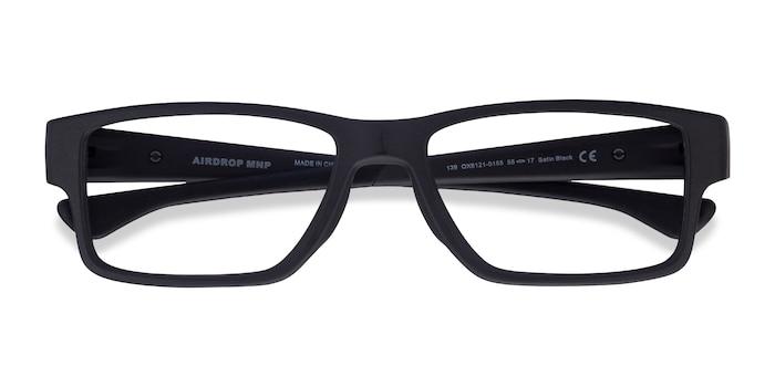 Satin Black Oakley Airdrop Mnp -  Plastic Eyeglasses