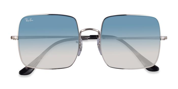 Silver Ray-Ban RB1971 -  Metal Sunglasses