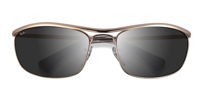 Gold Ray-Ban RB3119 -  Metal Sunglasses