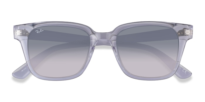 Transparent Ray-Ban RB4323 -  Plastic Sunglasses