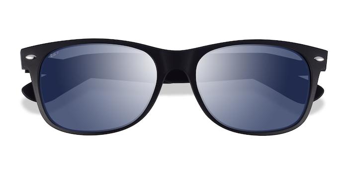 Matte Black Ray-Ban RB2132 -  Plastic Sunglasses