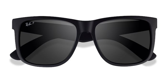 Black Ray-Ban Justin -  Plastic Sunglasses