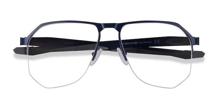 Matte Midnight Oakley Tenon -  Lightweight Titanium Eyeglasses