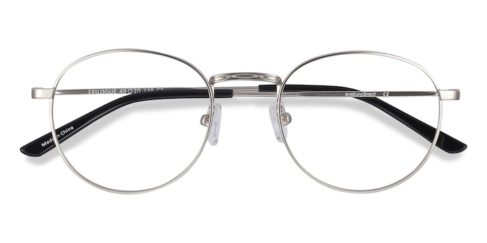 Silver Epilogue -  Geek Metal Eyeglasses