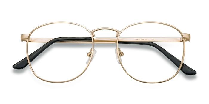 Golden St Michel -  Geek Metal Eyeglasses