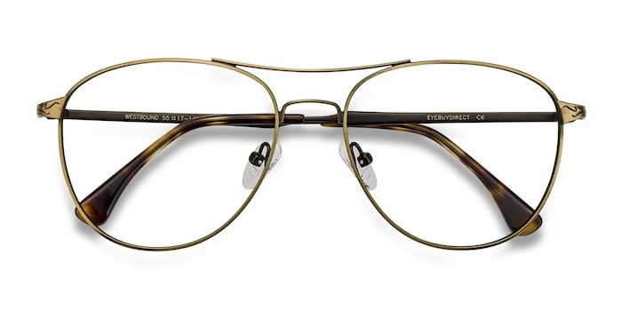 Bronze Westbound -  Fashion Metal Eyeglasses