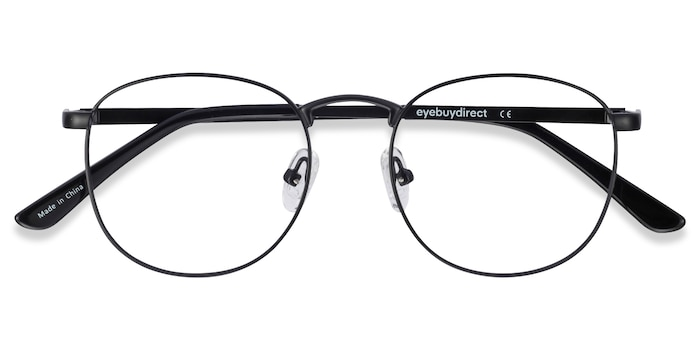 Black  St Michel -  Metal Eyeglasses