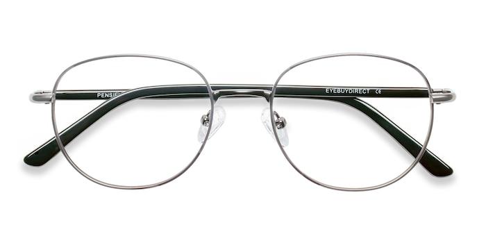 Gunmetal Pensieve -  Vintage Metal Eyeglasses