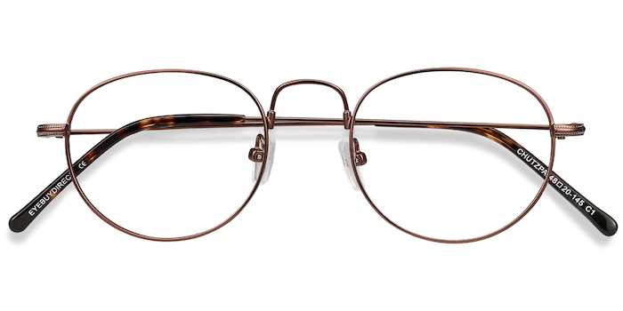 Coffee Chutzpa -  Metal Eyeglasses