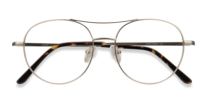Silver Cassini -  Fashion Metal Eyeglasses