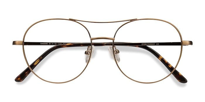 Brown Cassini -  Metal Eyeglasses