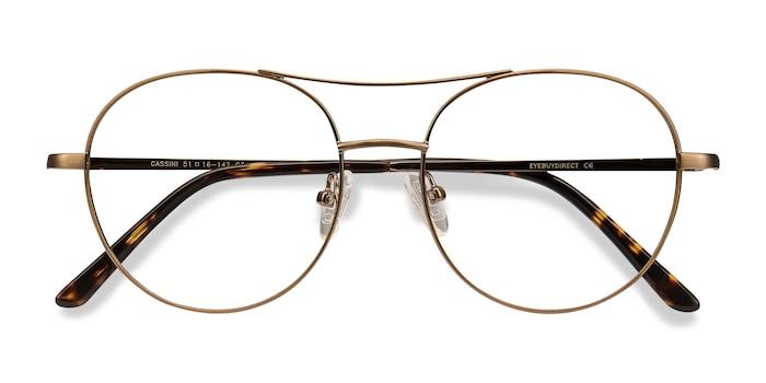 Brown Cassini -  Vintage Metal Eyeglasses