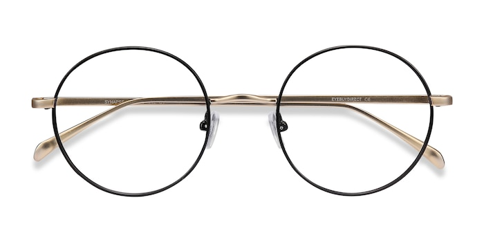 Black Synapse -  Metal Eyeglasses
