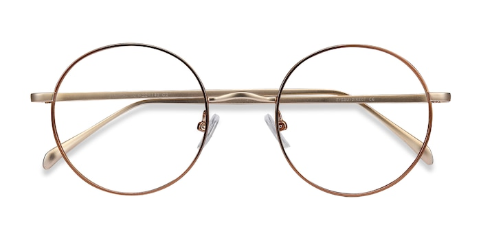 Brown Synapse -  Metal Eyeglasses