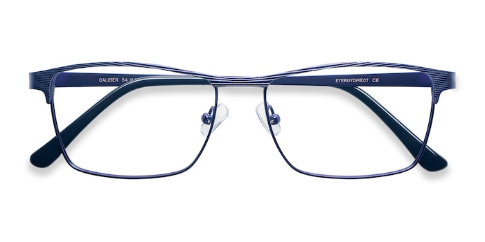 Blue Caliber -  Metal Eyeglasses