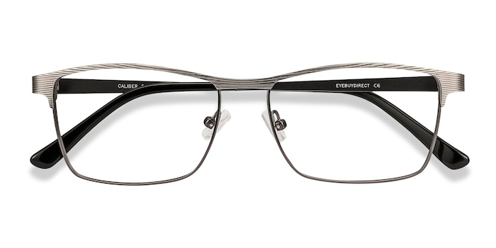 Gunmetal Caliber -  Metal Eyeglasses