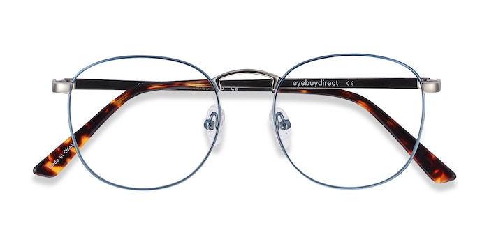 Frost Blue St Michel -  Colorful Metal Eyeglasses