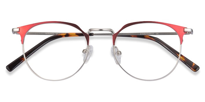 Red Veronica -  Metal Eyeglasses