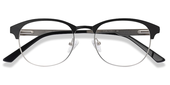 Black Toledo -  Metal Eyeglasses