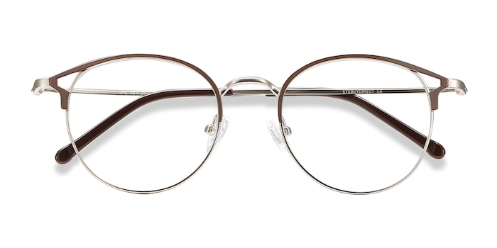 Brown Jive -  Metal Eyeglasses