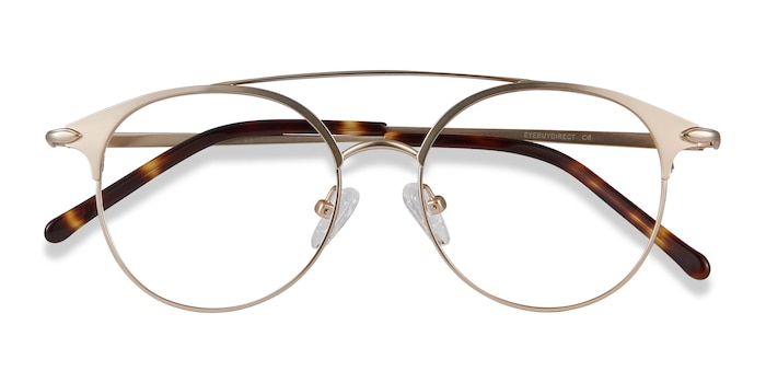 Rose Gold Cosine -  Metal Eyeglasses