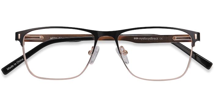 Black Media -  Lightweight Metal Eyeglasses
