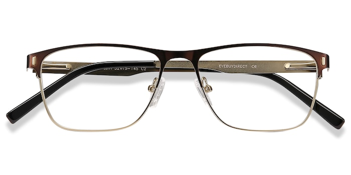 Brown Media -  Metal Eyeglasses