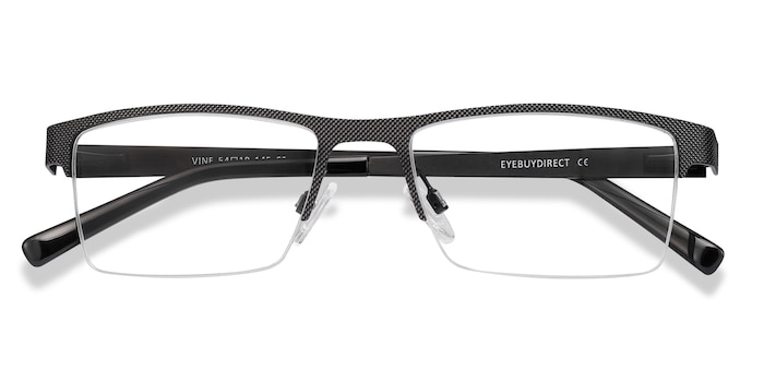 Black Vine -  Metal Eyeglasses
