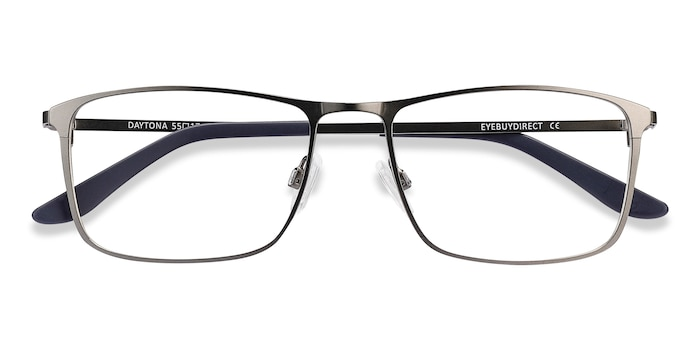 Gunmetal Daytona -  Metal Eyeglasses