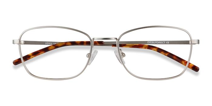 Silver Verse -  Lightweight Metal Eyeglasses