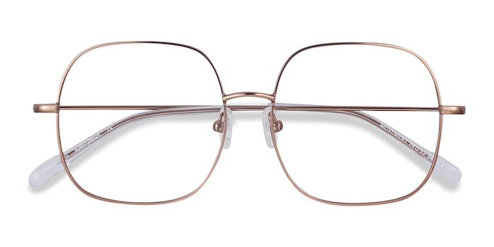 Rose Golden Movement -  Metal Eyeglasses