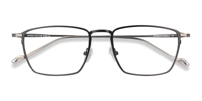 Gunmetal Wind -  Metal Eyeglasses