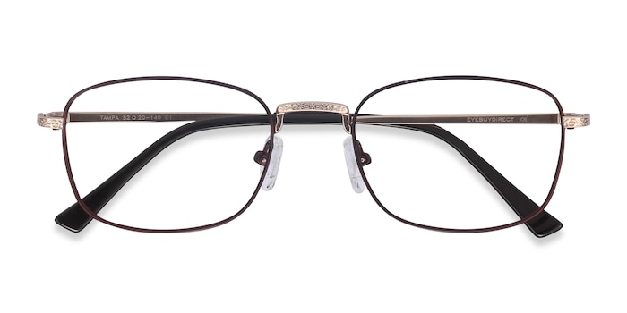 Red Tampa -  Colorful Metal Eyeglasses