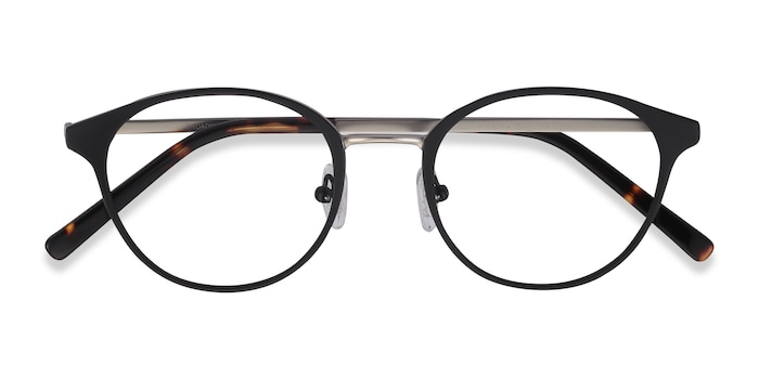 Black Broadway -  Metal Eyeglasses