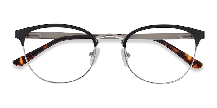 Black The Works -  Metal Eyeglasses