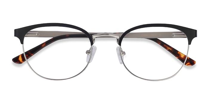 Black The Works -  Vintage Metal Eyeglasses
